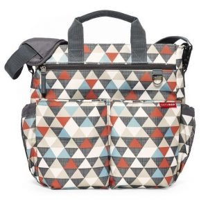 Skip hop torba duo signature triangles