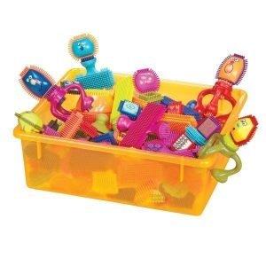 B.toys spinaroos klocki jeżyki z buźkami – zestaw duży