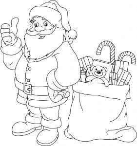 Mikołaj i wór prezentów