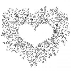 Kolorowe serce