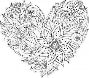 Kwiaty w kształcie serca