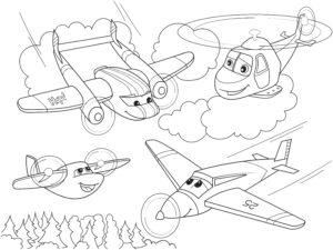 Różne samoloty