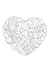 Serce z liści