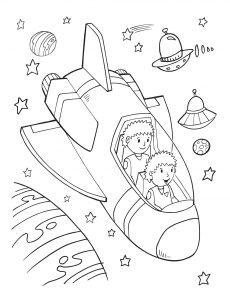 Statek i UFO