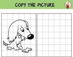 Przerysuj psa