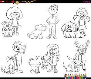 Ludzie z psami