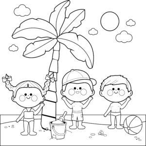 Palma i dzieci
