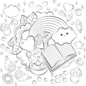 Tęcza i książki