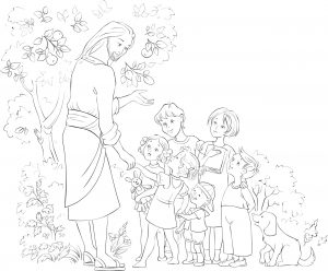 Jezus nauczający dzieci