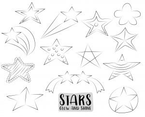 Zestaw gwiazd