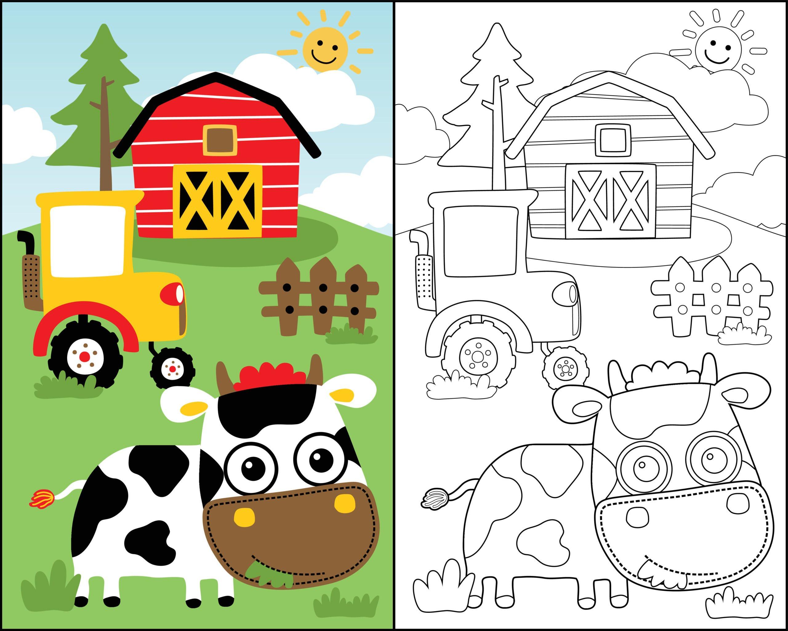 Pokoloruj farmę