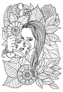 Dziewczyna i kawa