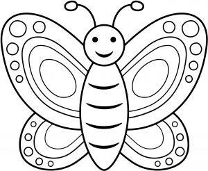 Zabawny motylek