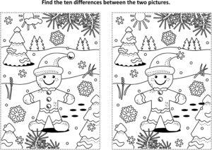 Znajdź różnice - piernik
