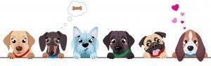 Kolorowanki psy