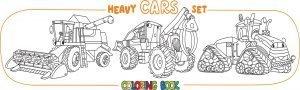 Maszyny rolnicze - kombajn i ciągnik
