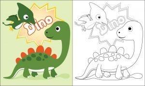 Dino i pterodaktyl