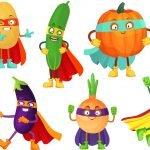 Kolorowanki warzywa