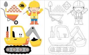 Bob budowniczy i koparka