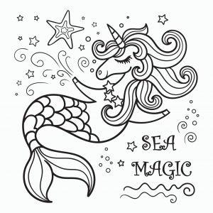 Jednorożec morski