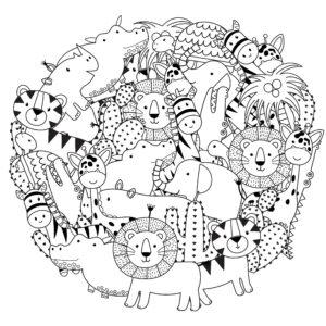 Zwierzątka leśne