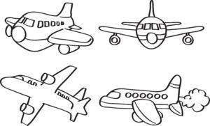Cztery samoloty