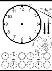 Zegar i słonik