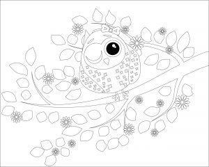 Mrugająca sowa