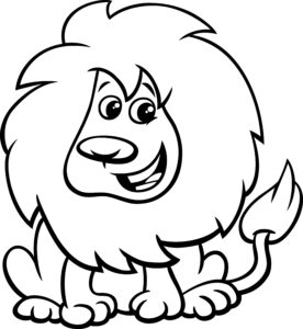 Wesoły lew