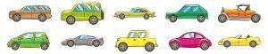 Kolorowanki samochody