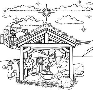 Stajenka bożonarodzeniowa