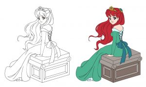 Księżniczka na skrzyni