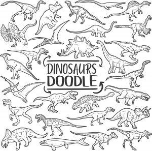 Tradycyjne ikony Doodle