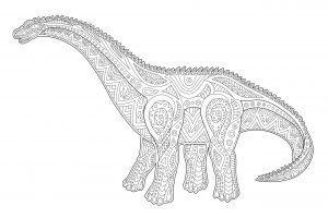 Dinozaur diplodok