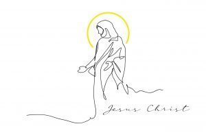 Jezus w aureoli
