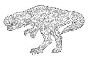 Dinozaur tyranozaur
