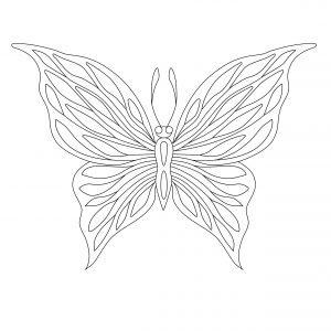 Prosty motylek