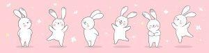 Kolorowanki króliczki