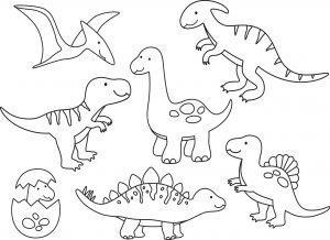 Śmieszne dinozaury