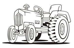 Mały traktorek