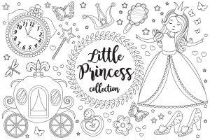 Zestaw małej księżniczki
