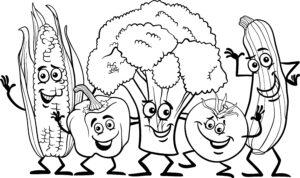 Papryka, cukinia i kukurydza