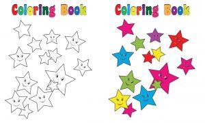 Kolorowe gwiazdki