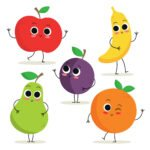 Kolorowanki owoce