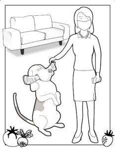 Pies i gazeta