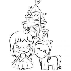 Jednorożec, księżniczka i zamek