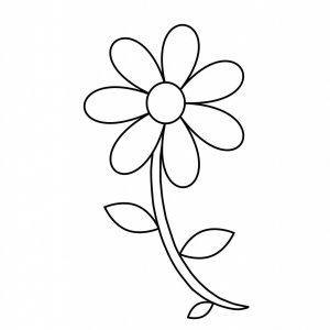 Prosty kwiatek