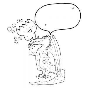 Przemawiający smok