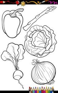 Buraczki, cebula i szparagi