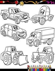 Różne pojazdy